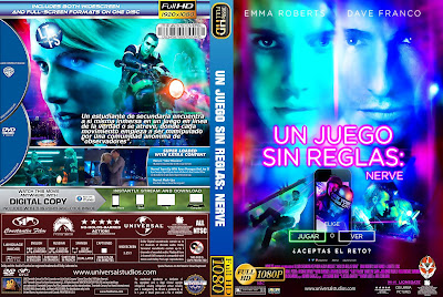 Nerve Dvd Cover - Cover Dudes
