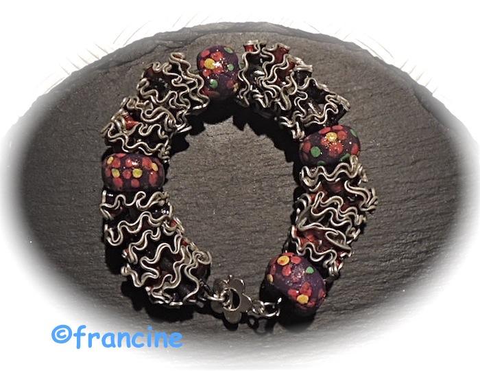 francine bricole colliers et bracelets fleurettes en capsules nespresso r cup r es. Black Bedroom Furniture Sets. Home Design Ideas