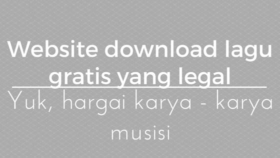 Tempat Download Lagu Original Gratis Terlengkap Terbaik di Dunia