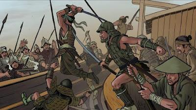 samurais-contra-españoles