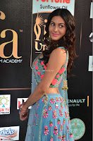 Amyra Dastur in Flower Print Choli Transparent Chunni at IIFA Utsavam Awards 01.JPG