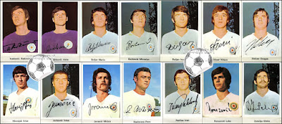 Hajduk Split album sličice Nogometna liga 1971/72 kolinska