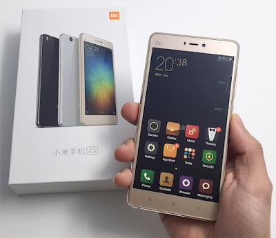 Điện thoại Mi4s của Xiaomi