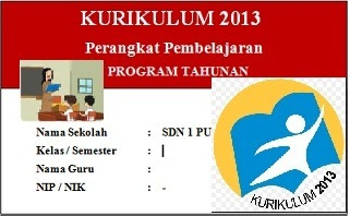 Progam Tahunan Kurikulum 2013 Revisi 2017 Kelas 5 SD