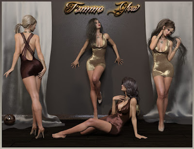 Femme Glow Poses
