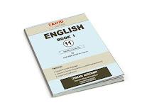 English Book I Notes PDF Book
