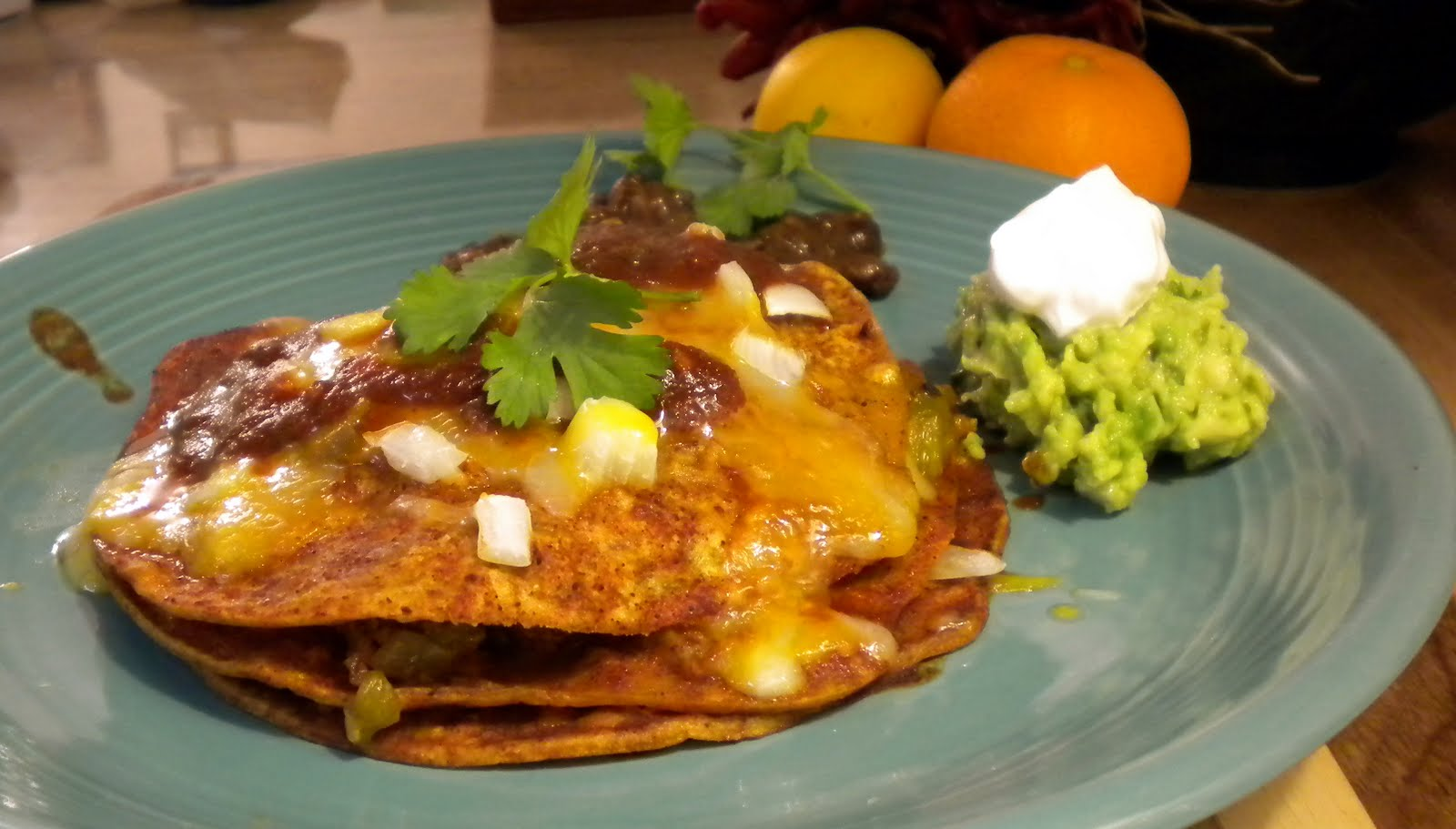 Cooking For Zo New Mexican Stacked Enchiladas