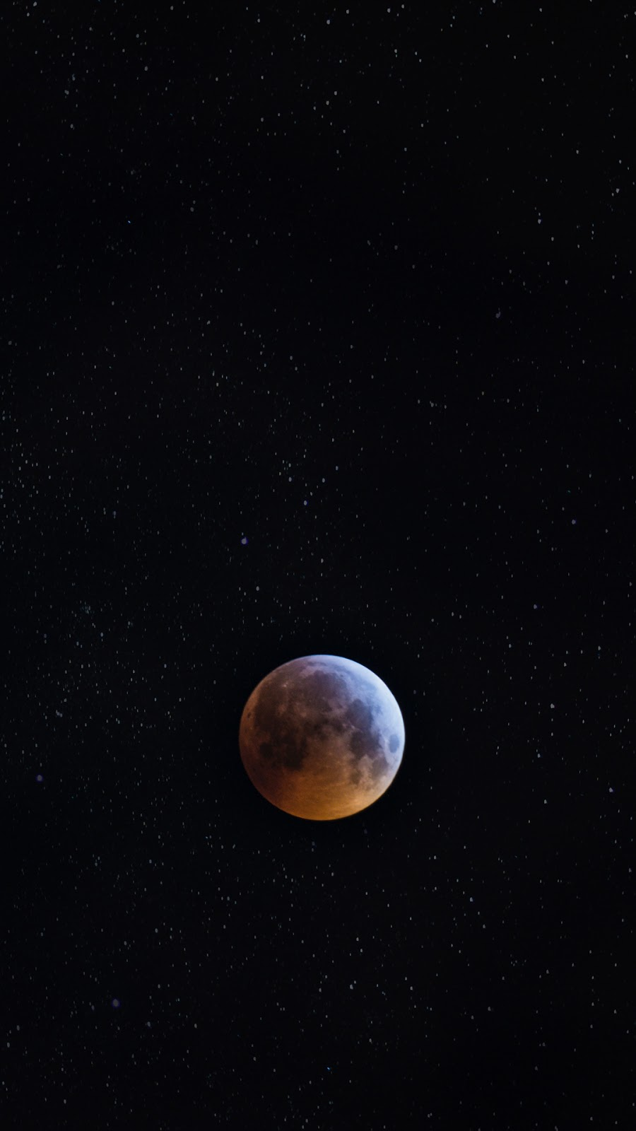 A Super Blood Wolf Moon