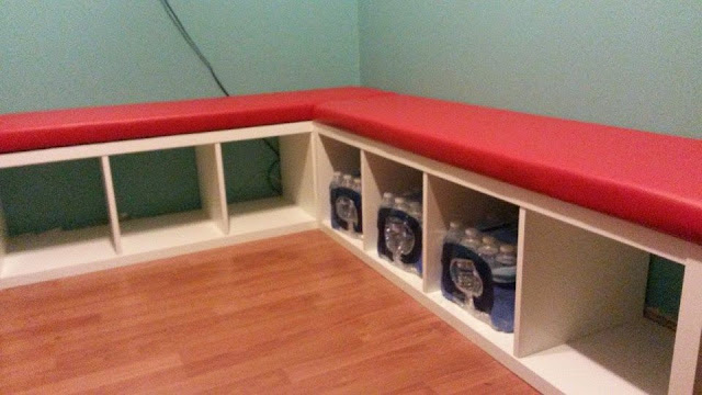 ikea hack, banquette seating, bench seat, diy
