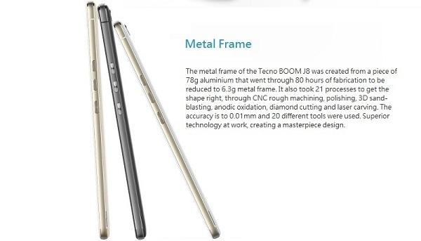 cheapest phones: Tecno Boom J8 - Grey SPEC