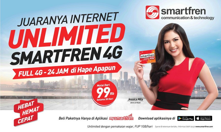 Aplikasi Smartfren | PT. Smartfren Telecom, Tbk.