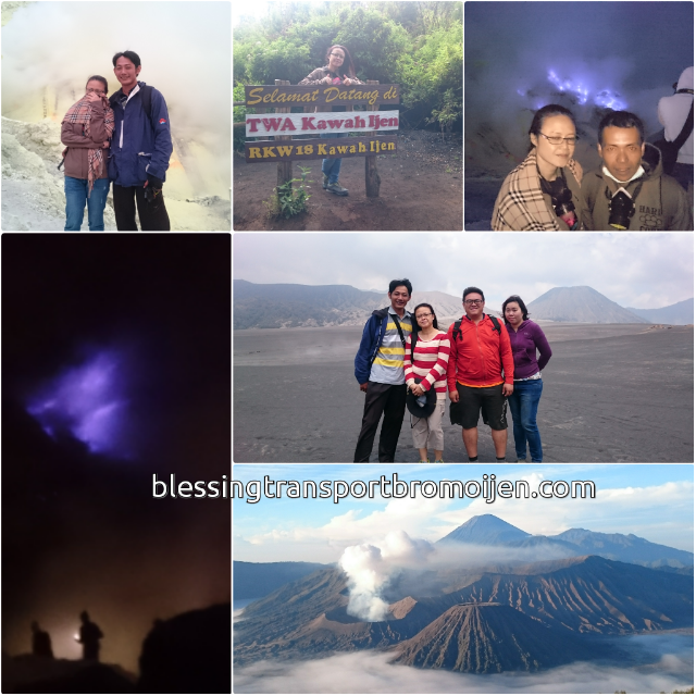 Salina, Gary, Tracy (MY), transport for Bromo 2D1N. Sept, 14th to 15th, 2016.
