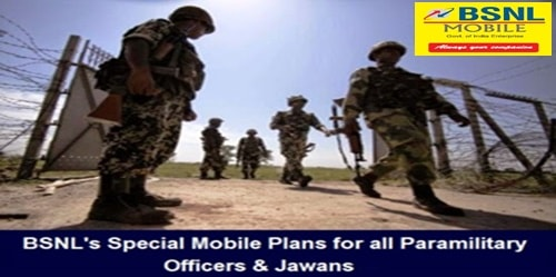 Postpaid mobile plan Rakshak and Special Paramilitary plans withdrawn