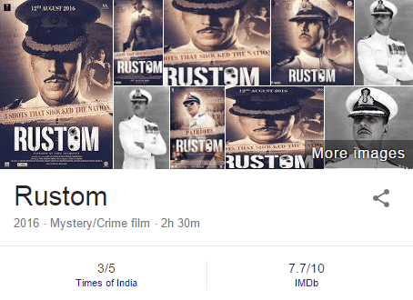 Download Rustom(2016) Akshay Kumar Full Movie in HD Blu-Ray