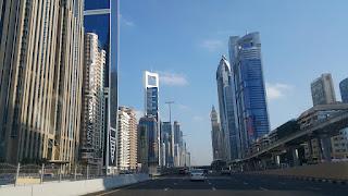 شوارع دبي الوعة والجمال