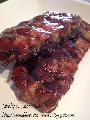 Sticky 5 Spice Ribs | Addicted to Recipes