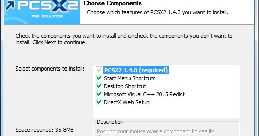 how to download and install pcsx2 1.4 0 with bios