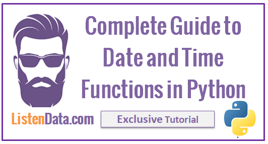 datetime python with examples