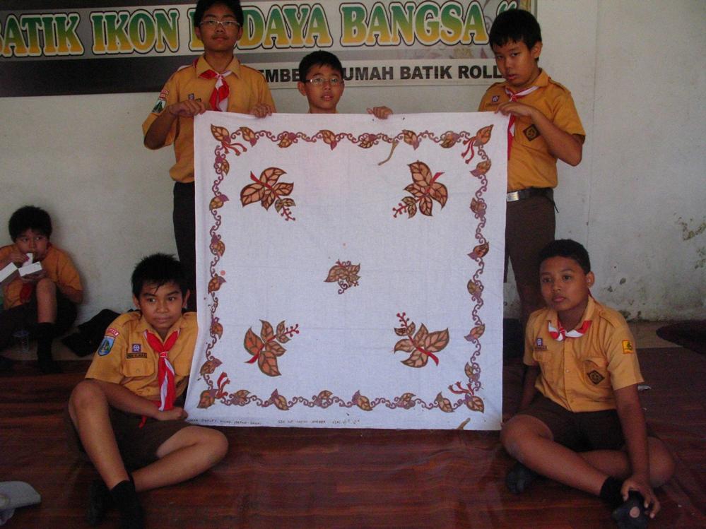 Pengenalan Batik Budaya Indonesia Di Sekolah Lianny Hendrawati