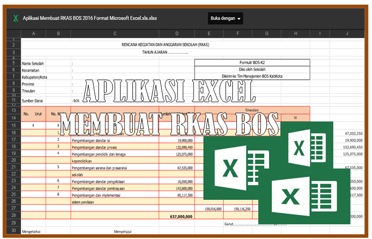Download Aplikasi Rkas Bos Terbaru Download Lengkap
