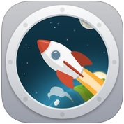 [App Spotlight] 一玩就上癮的計步遊戲,讓「Walkr」帶你漫步太空!
