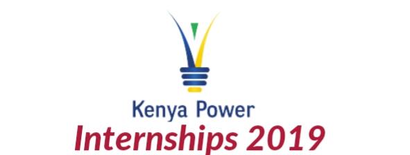 Internship program Kenya power 2019