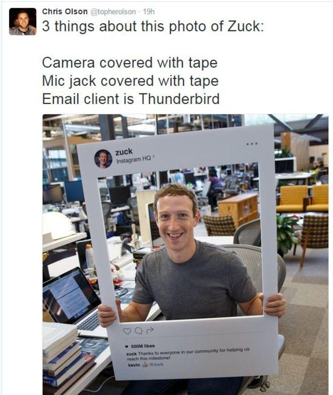 """Lo que dice sobre los """"hábitos"""" de Mark Zuckerberg la foto en la que celebra el éxito de Instagram"""
