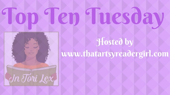 Book Blog Meme, Top Ten Tuesday, InToriLex