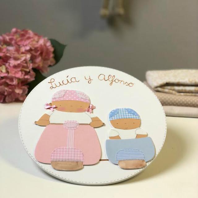 placas de puerta personalizadas, decoración infantil