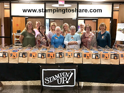Our Stamping to Share Set Up Crew for Fall Flair 2017