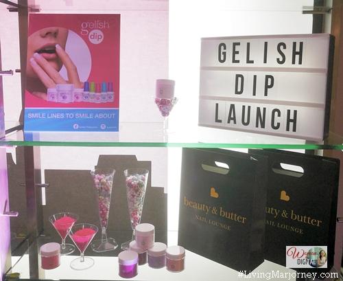Gelish Dip acrylic powder nail system