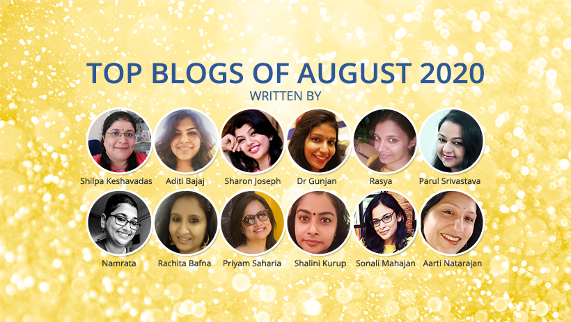Top Blogger Aug-2020