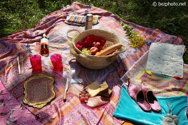 бохо пикник