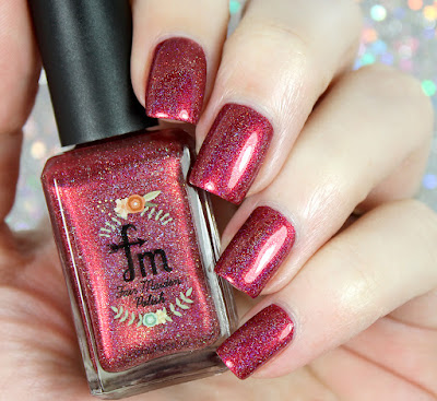 Fair Maiden Polish Sparkly Sangria • Polish Pickup July 2017 • Cocktails & Mocktails
