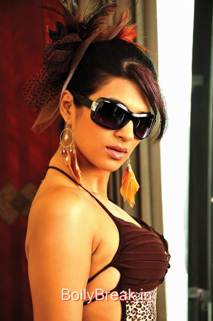 Telugu Actress Shraddha Das, Shraddha Das Hot Stills From Rey Movie