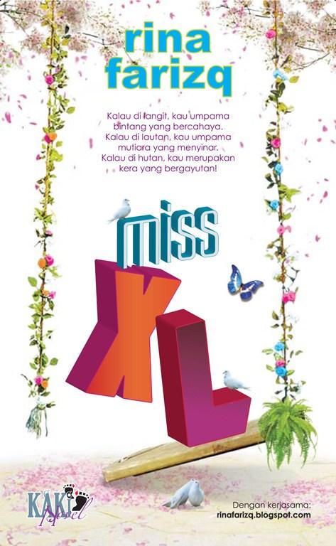 Novel Miss XL - Penulis Rina Farizq