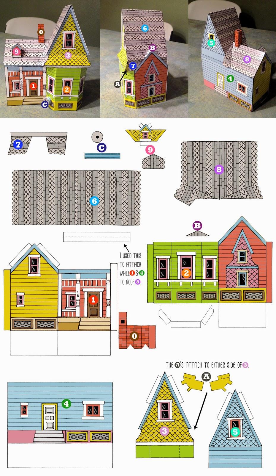 casinhas de papel dicas printable freebie da semana cantinho do blog. Black Bedroom Furniture Sets. Home Design Ideas