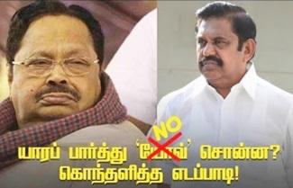 Did OPS met Jayalalithaa in hospital?