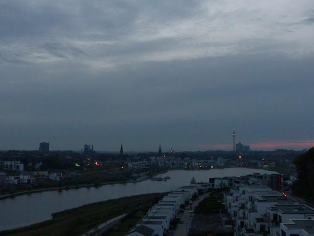 Phönixsee Dortmund Sonnenuntergang Ruhrgebiet Reise Reisebericht Besuch