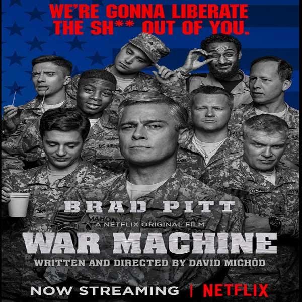 War Machine, War Machine Synopsis, War Machine Trailer, War Machine review, Poster War Machine