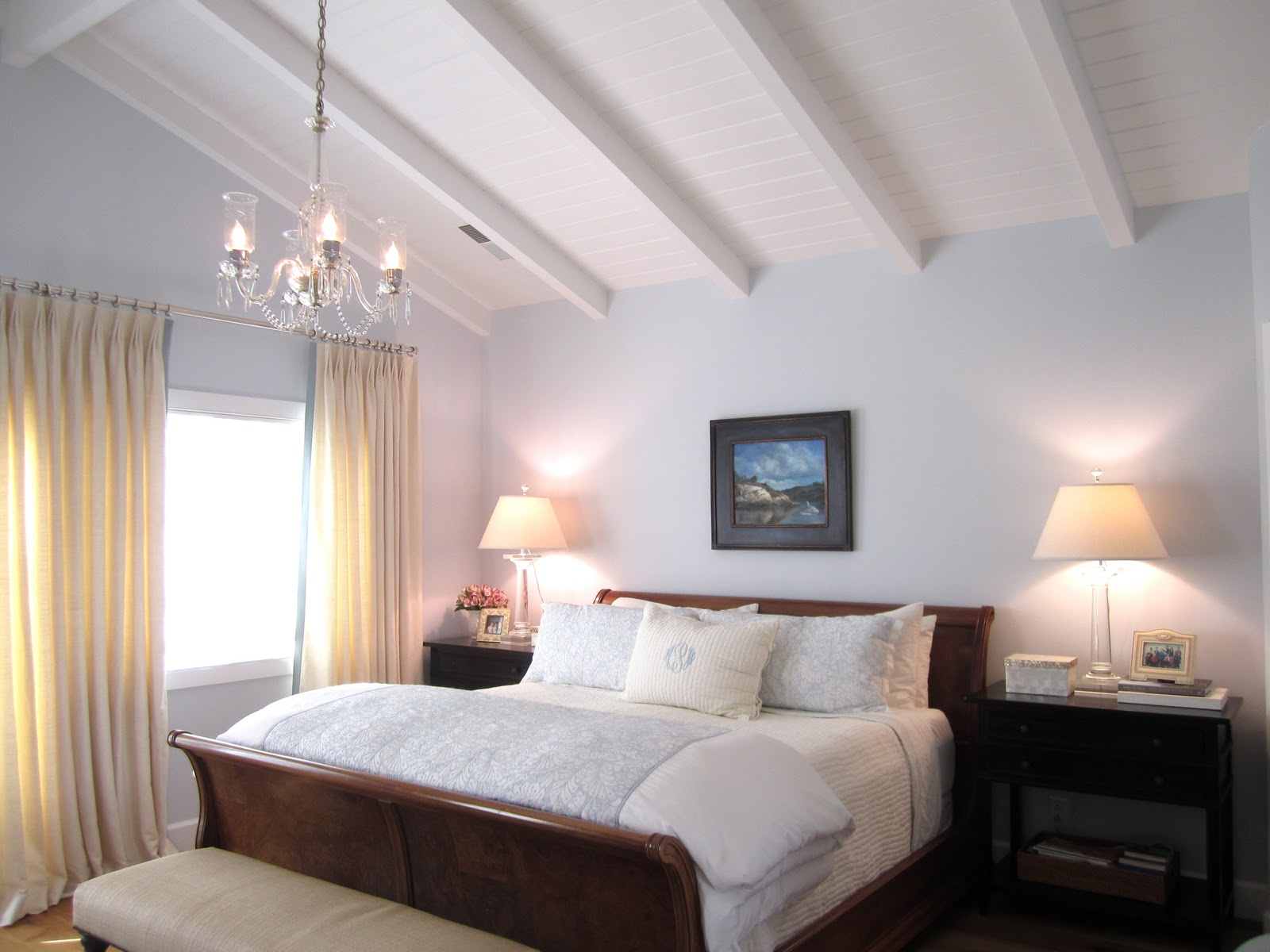 Remodelaholic Classic Casual Home Master Bedroom Reveal