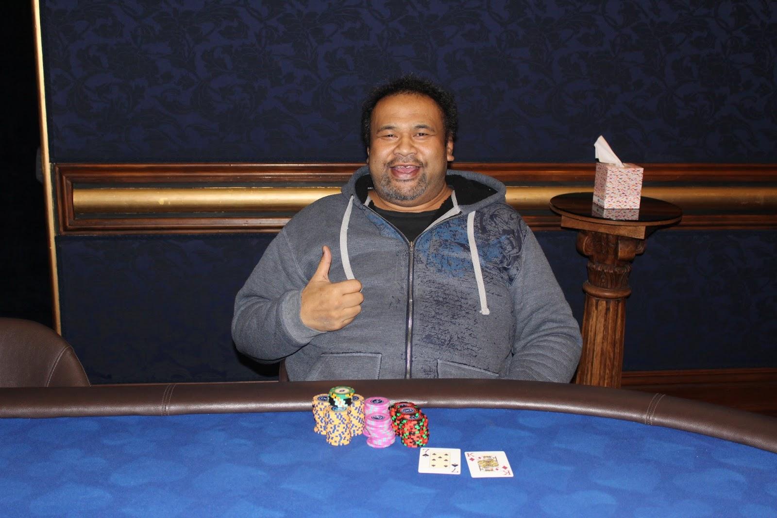 Dunedin Casino Poker Tournament Winner Freezeout Champion