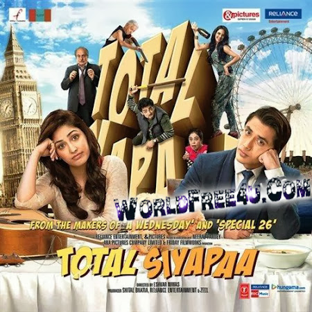 Poster Of Total Siyapa (2014) All Full Music Video Songs Free Download Watch Online At worldfree4u.com