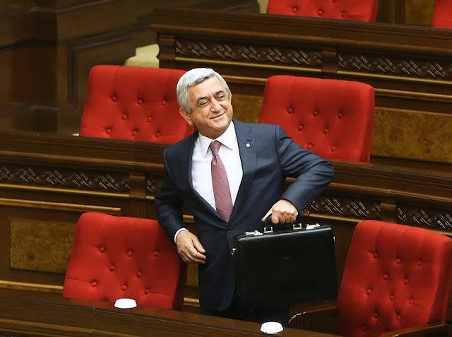 Serzh Sargsyan elegido como primer ministro