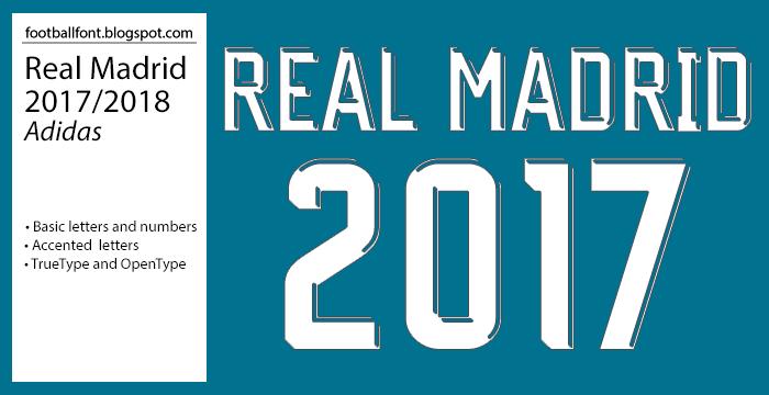 Free download real madrid font downloads