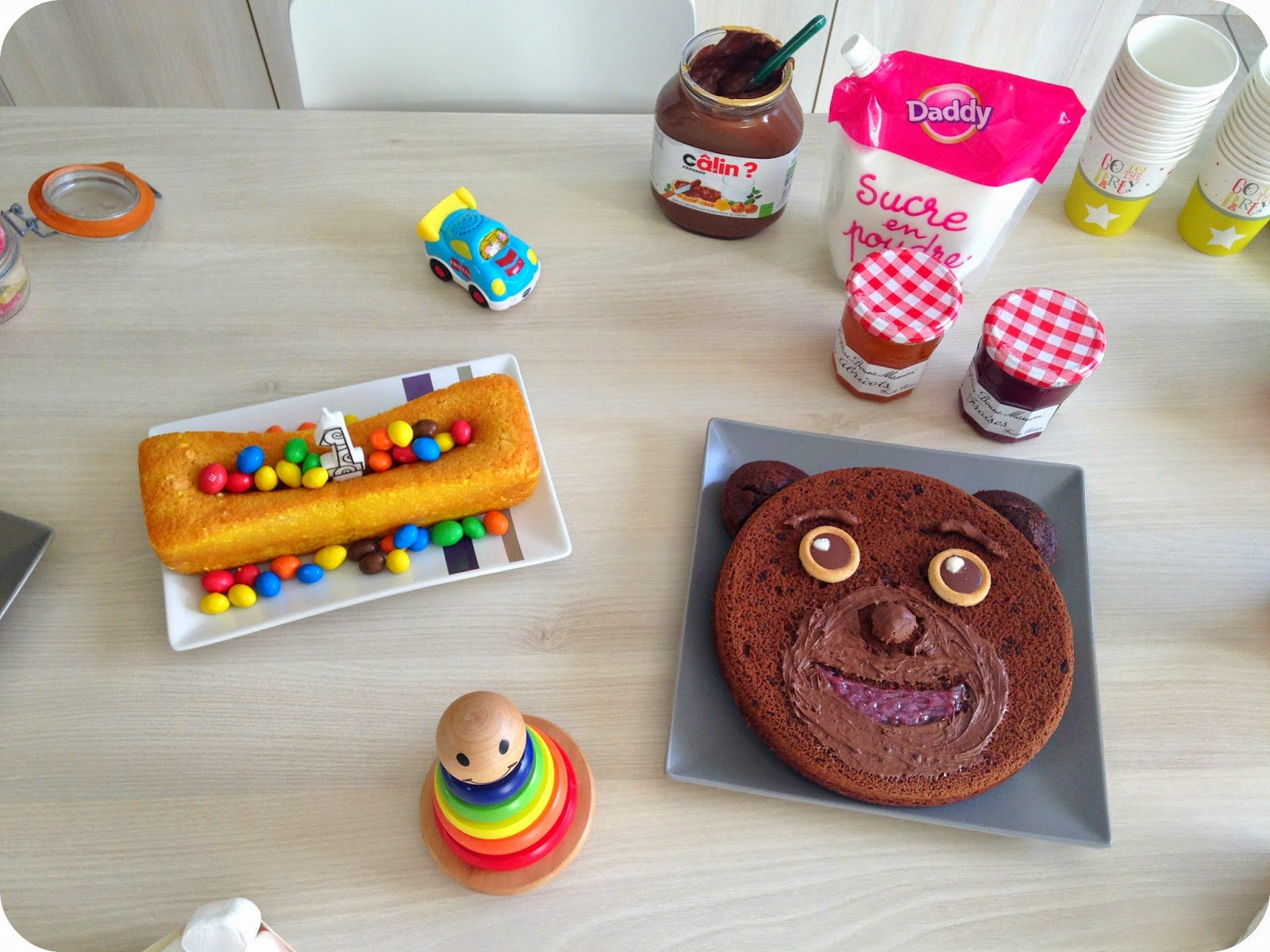 recette cake citron lemon birthday baby