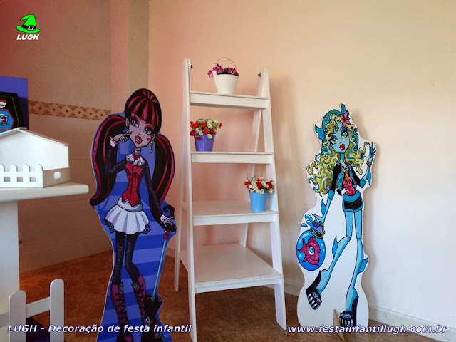 Mesa decorada infantil Monster High
