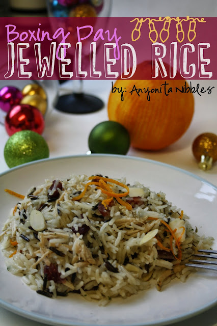 Boxing Day Jewelled Rice Recipe from www.anyonita-nibbles.com