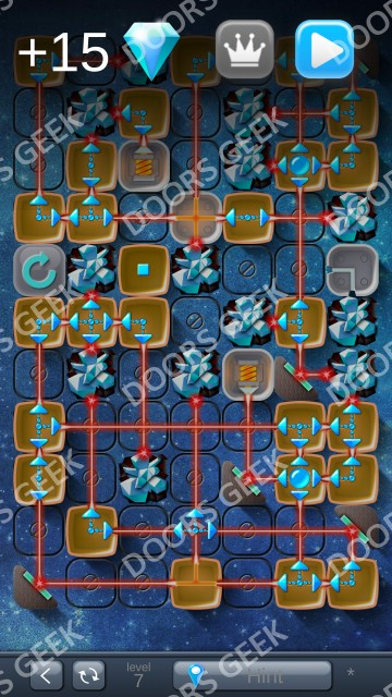 Solution for Laser Box Winter (Royal) Level 7