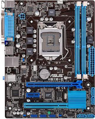 spesifikasi motherboard asus h61m c spesifikasi hardware. Black Bedroom Furniture Sets. Home Design Ideas